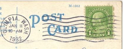 Olympia 1932 postmark