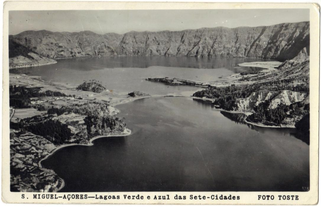 Azores Postcard 1950s Vintage