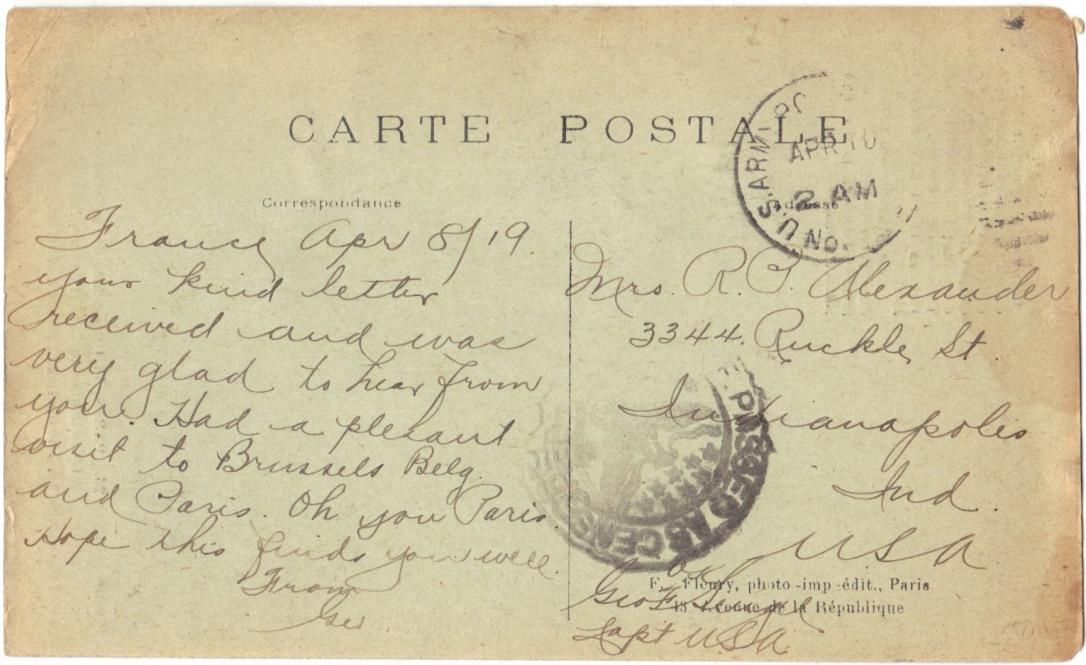 great-war-postcard-apr-1919