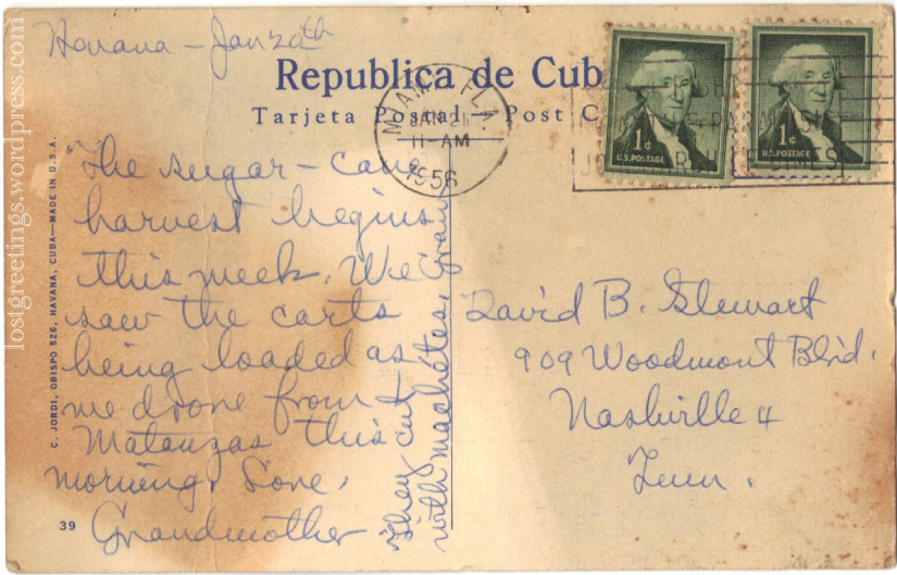 1956 Cuba message lg