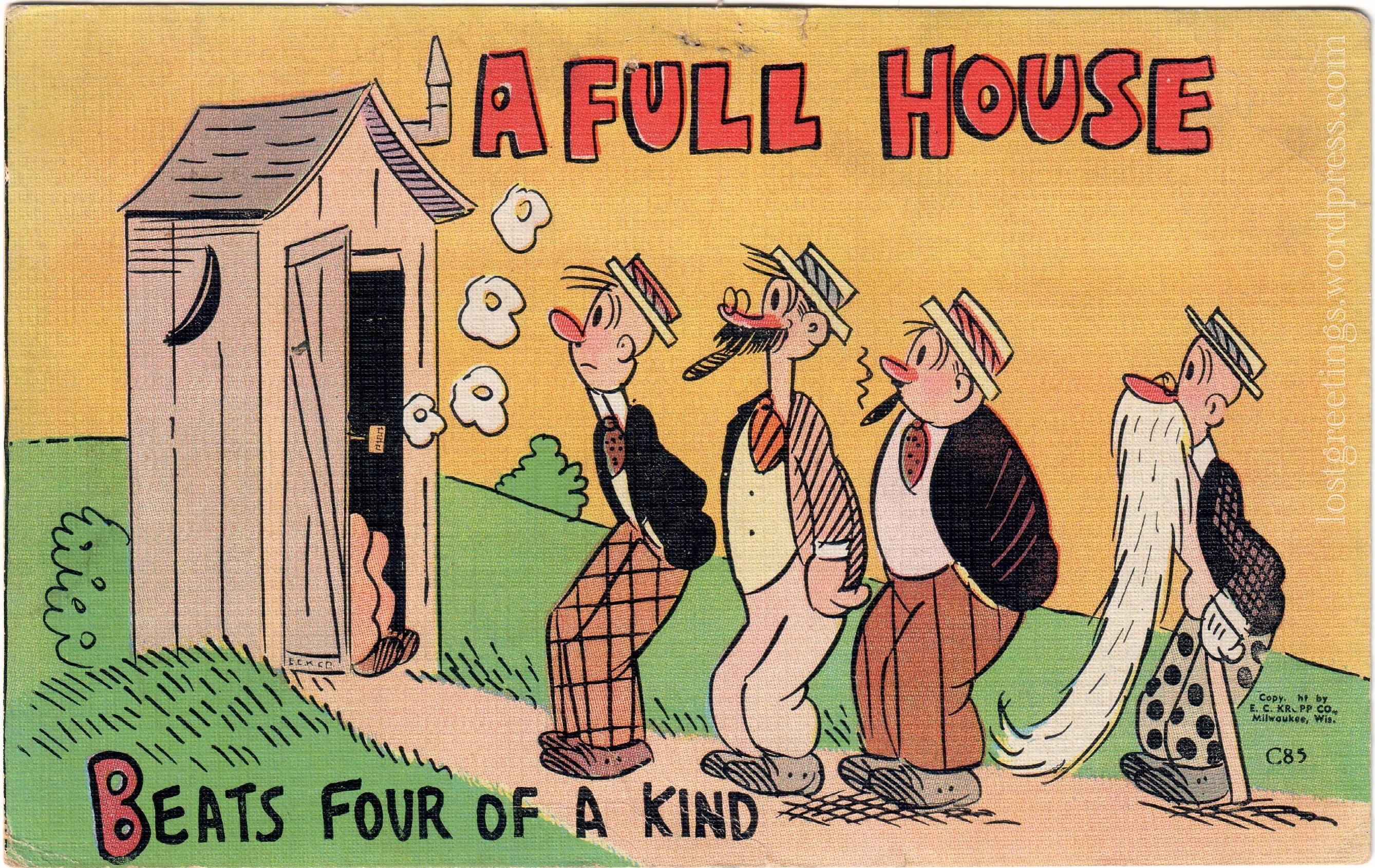 1943 Comic Postcard image - Watsonville California lg