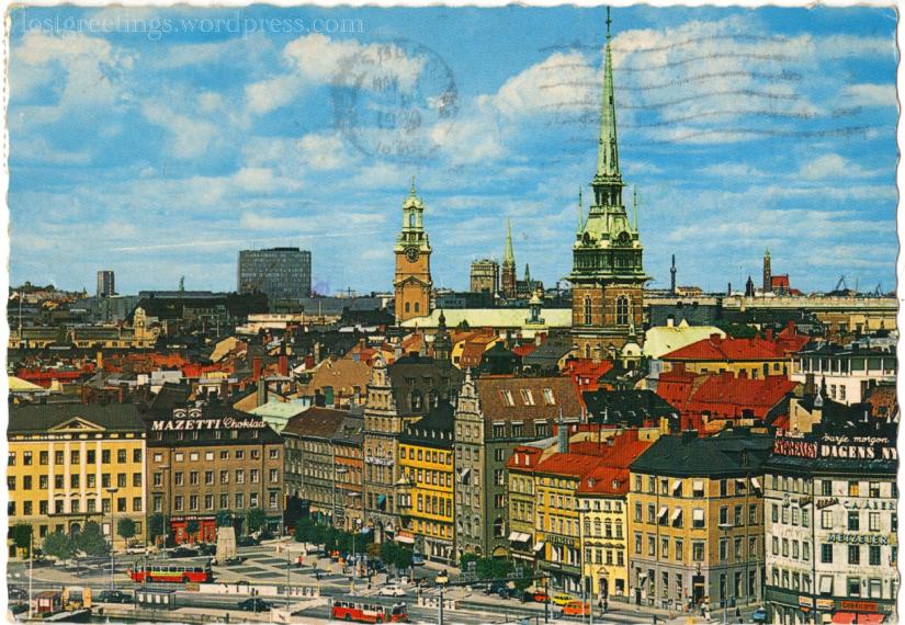 Stockholm Postcard 1990 image lg