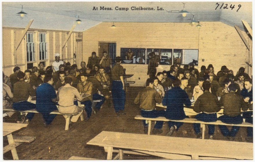 Camp Claiborne Louisiana World War II