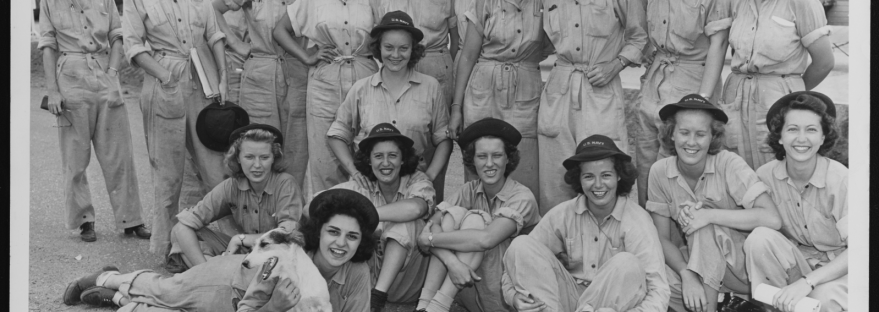 First Class of WAVES, Norman, Oklahoma 1943