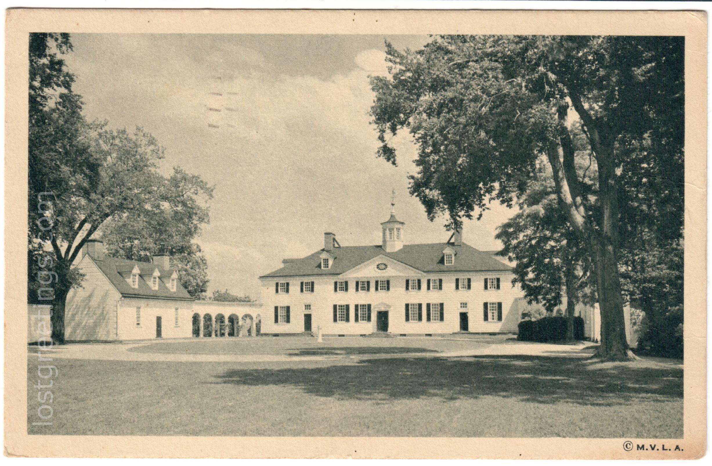 Postcard Casanova, Camp Barkeley TX 1945 Mt Vernon image lg